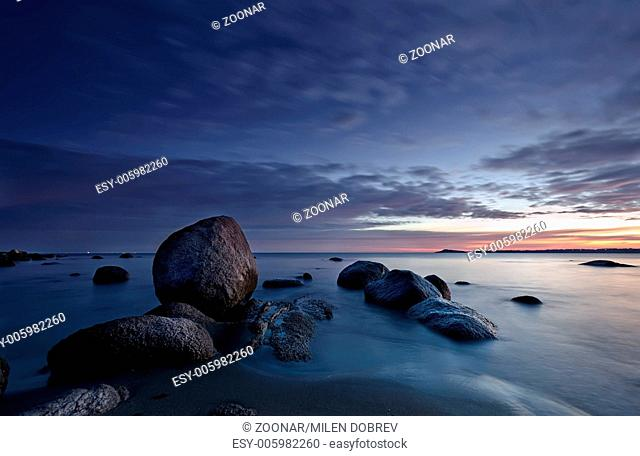 Rocks, Sea and Sunrise