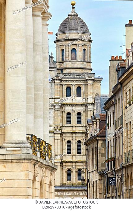 Saint-Michel church, Place de la Liberation, Dijon, Côte d'Or, Burgundy Region, Bourgogne, France, Europe
