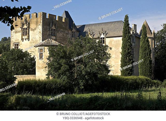 castle, Allemagne in Provence. Alpes-de-Haute-Provence, France