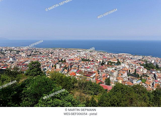 Turkey, Black Sea Region, Black Sea, Trabzon, Cityscape