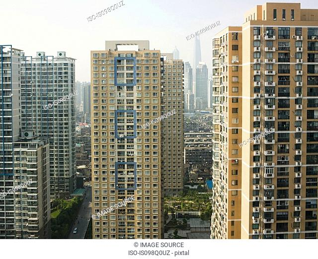 Shanghai apartment buildings