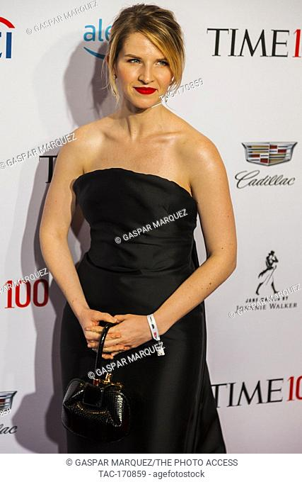 Tara Westover attends TIME 100 GALA on April 23 in New York City