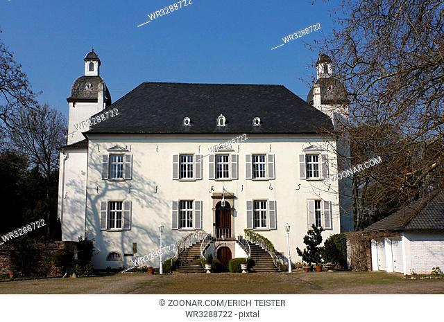 Schloss Lauersfort, Moers, Nordrhein-Westfalen, Deutschland