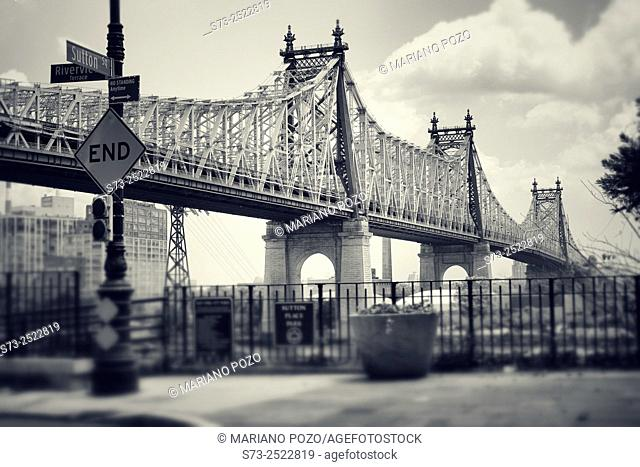 Queensboro Bridge. New York City. NY. USA