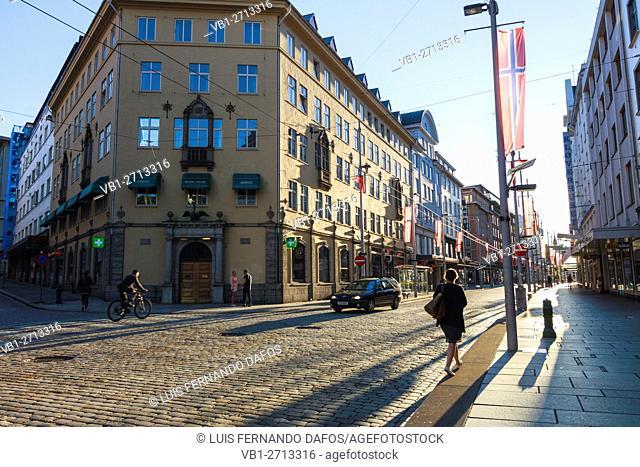 Markeveien street, Bergen, Norway