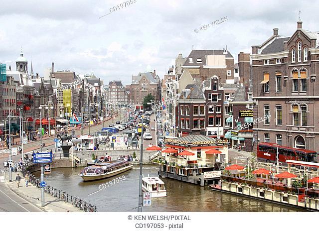 Rokin. Amsterdam. Holland