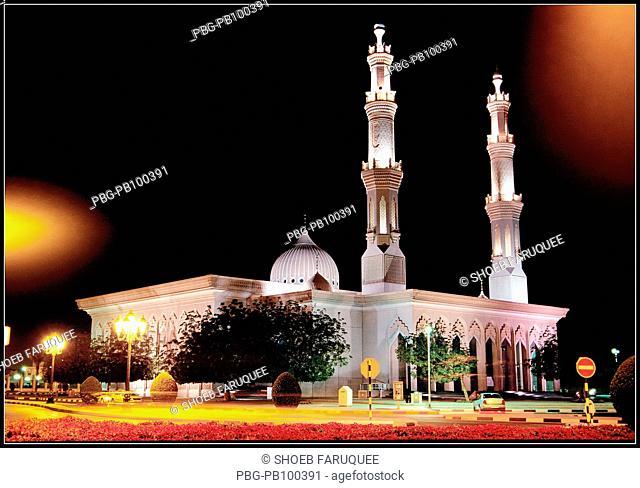 Imam Ibn Hanbal Mosque Sharjah, UAE April 2004
