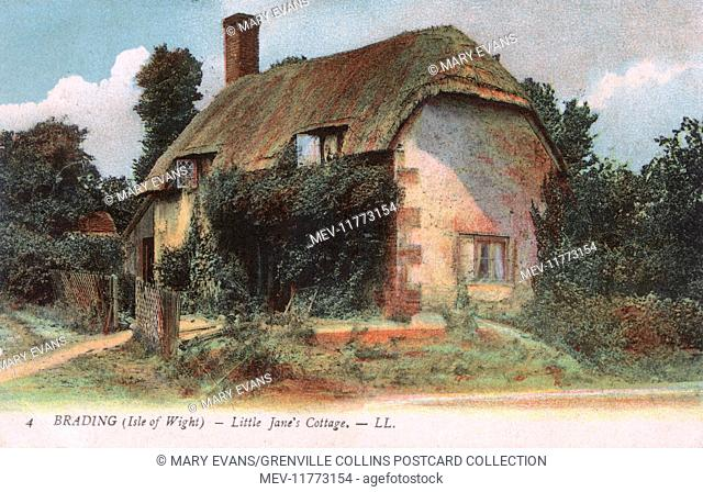 Little Jane's Cottage - Brading, Isle of Wight, Hampshire. Formerly the home in Brading, Isle of Wight, of Jane Squibb who was commemorated in Annals of the...
