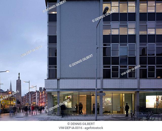IRISH AID VOLUNTEERING AND INFORMATION CENTRE, DUBLIN, IRELAND, Architect DE PAOR ARCHITECTS, 2008