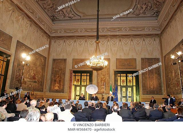 council of ministers,napoli 10-10-2008 ,photo vincenzo barbieri/markanews