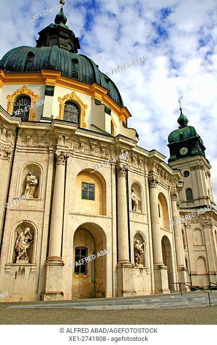 Benedictine abbey, Ettal, Germany