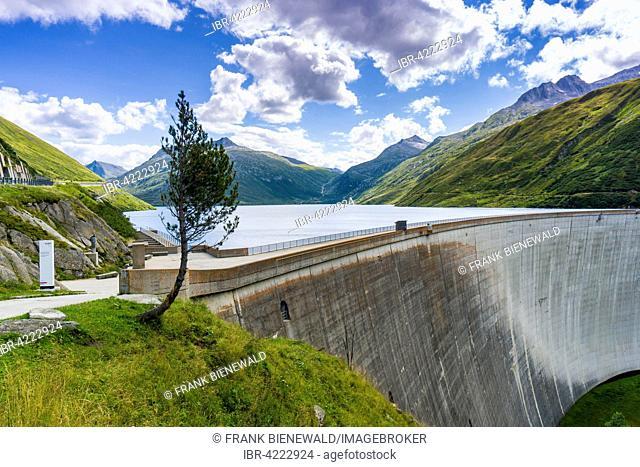 Dam Santa Maria, Lukmanier Pass, Canton of Uri, Switzerland