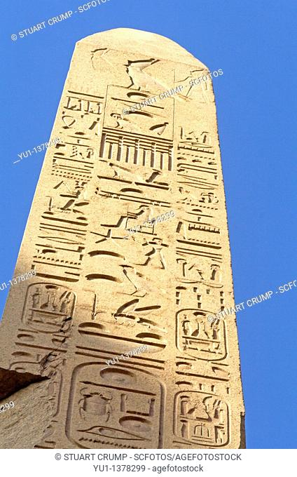 The Obelisk of Thot-Mosis I at Karnak Temple, Luxor, Egypt, North Africa