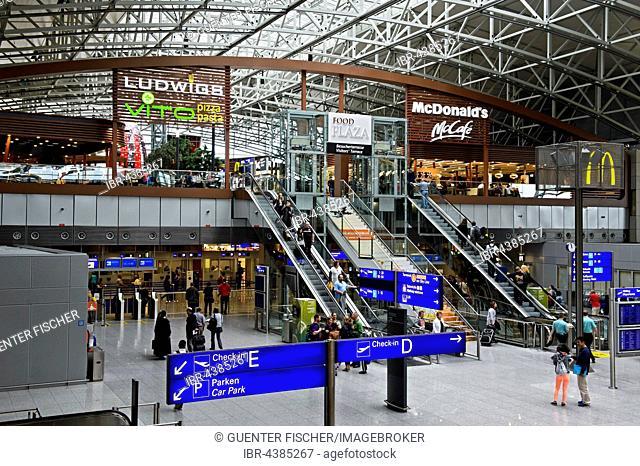 Terminal 2, Frankfurt Airport, Frankfurt, Hesse, Germany