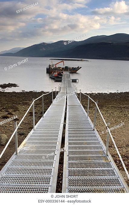 Fishnish ferry terminal, Isle of Mull, Scotland