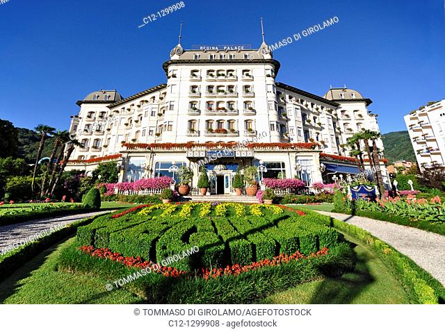 Regina Palace Hotel, Stresa, Lago Maggiore, Italy
