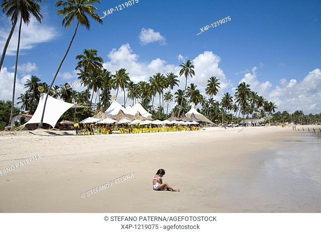 Pontal de Maracaipe is on of the many beaches of Porto de Galinhas. Pernambuco, Brazil