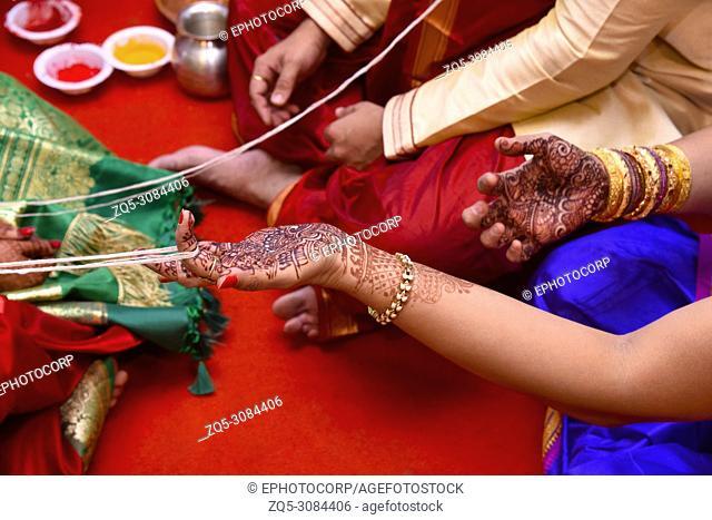 Indian wedding rituals, Pune, Maharashtra, India