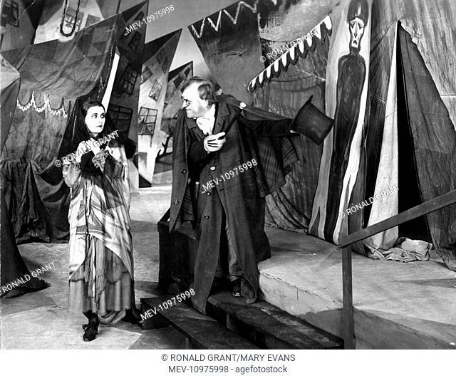 DAS CABINET DES DR CALIGARI [GER 1920] aka THE CANINET OF DR CALIGARI LIL DAGOVER, WERNER KRAUSS