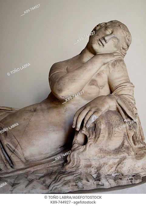 Classic Sculpture, Vatican Museum, Rome, Italy