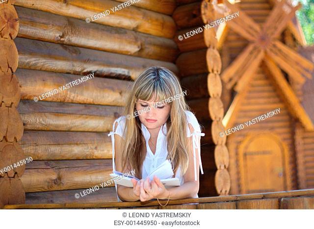 Girl portrait at farm