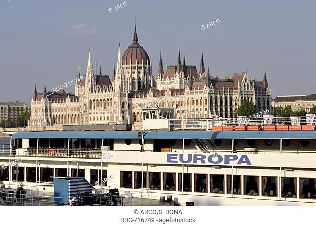 Danube ferry boat Stock Photos and Images | age fotostock