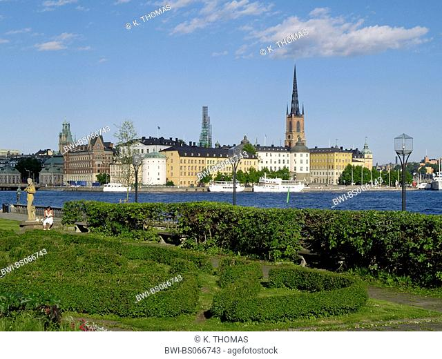 Stockholm, Riddarholmskyrkan, Riddarholmschurch, Sweden, Stockholm, Riddarholmen