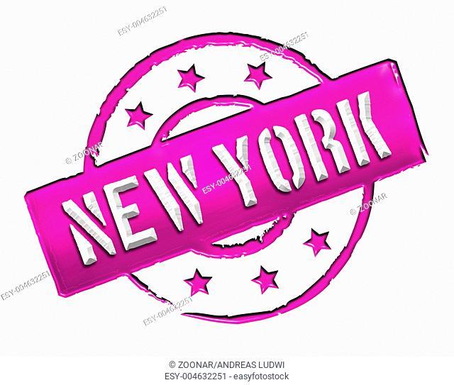 Stamp - NEW YORK