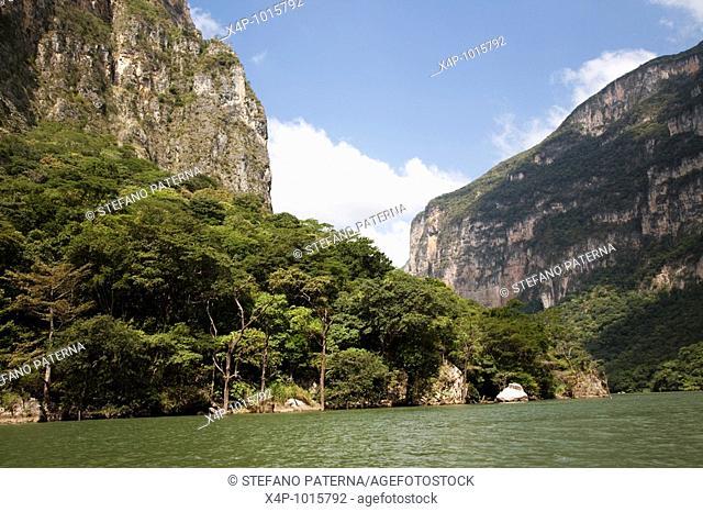 Sumidero Canyon, Chiapas Mexico
