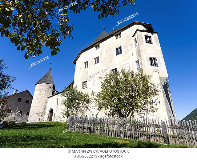 Museum Ladin in Castle Thurn - Castel Tor - Ciastel de Tor in St. Martin in Thurn - San Martino in Badia in the Gader Valley - Badia in the Dolomites of South...
