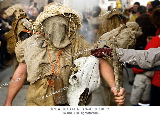 Lantz Carnival, Navarre, Spain
