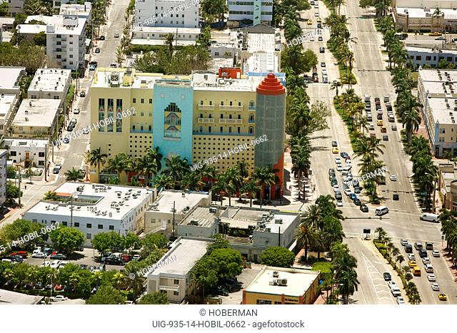 Art Deco building, Miami Beah