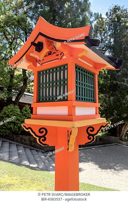 Wooden lantern, Kasuga Taisha Shrine, Nara, Japan