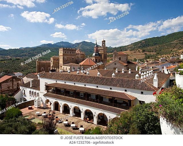 Spain, summer 2010,Extremadura Region,Guadalupe City,Guadalupe Monastery UNESCO,National Parador