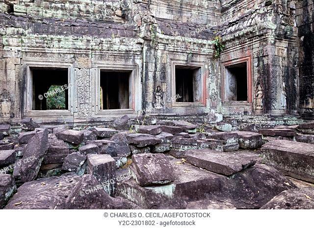 Cambodia. Preah Khan Ruins, 12th. Century