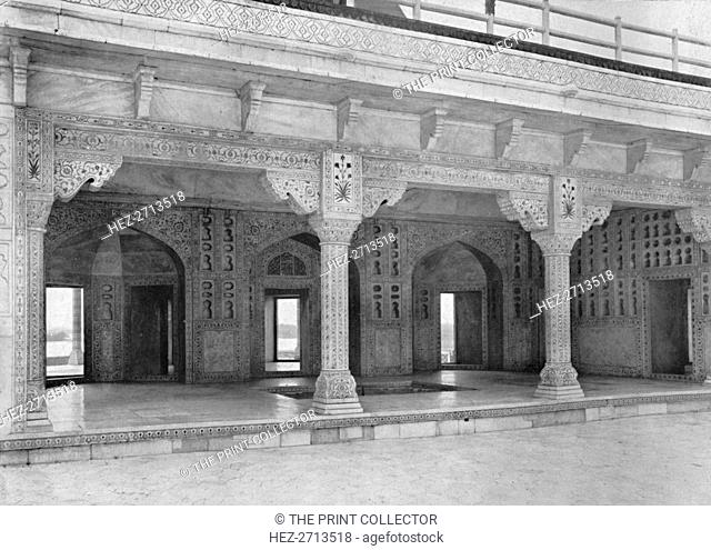 'Agra. A Room in the Jasmine Tower', c1910. Creator: Unknown