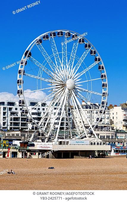 The Brighton Wheel, Brighton, Sussex, UK