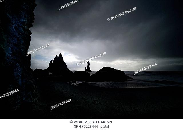Reynisdrangar near Vik, Iceland