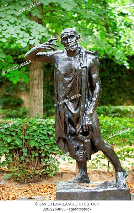 Sculpture by Auguste Rodin. Rodin Museum. Paris. France