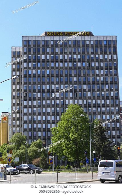 Solna, Sweden Solna Stadshus, or City Hall