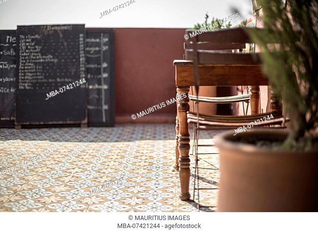 Morocco, Marrakech, Maison de la photograph