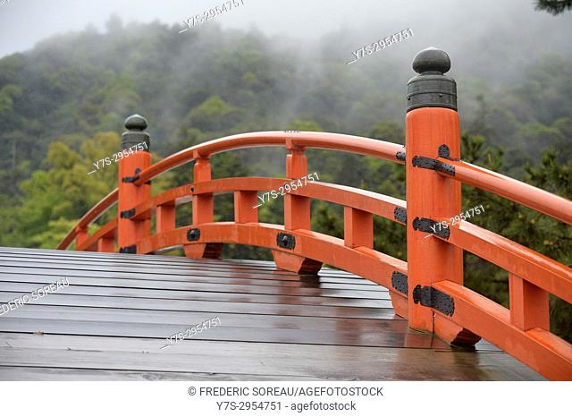 Bridge in Itsukushima Shrine,Miyajima, Japan,Asia