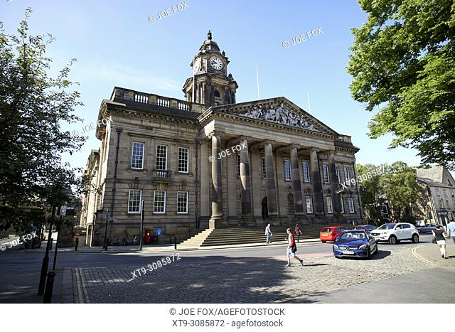 Lancaster Town Hall building in dalton square england uk