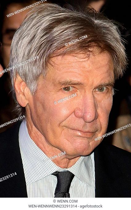 Star Wars: The Force Awakens - European Premiere at Leicester Square, London Featuring: Harrison Ford Where: London, United Kingdom When: 16 Dec 2015 Credit:...