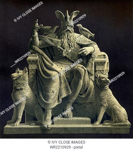 According to Norse mythology, Odin was one of the chief gods and the ruler of Asgard (the country or capital of the Norse gods)