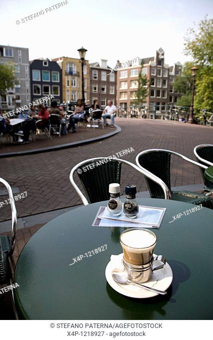 Streetcafe in Jordaan District, Amsterdam