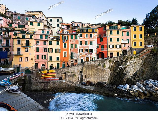 Riomaggiore, Cinque Terre; Liguria, Italy