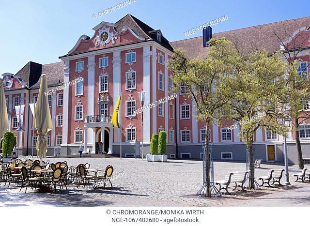 Neues Schloss, New Castle, Meersburg, Lake Constance, Baden-Wuerttemberg, Germany, Europe