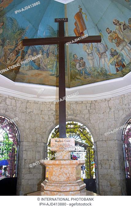 The Philippines Cebu Cebu City Magellan's Cross Adrian Baker