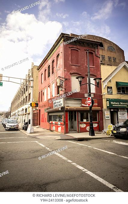 Nick's Halsey Coffee Shop in downtown Newark, New Jersey's largest city